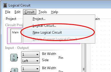 Creating new logical circuit